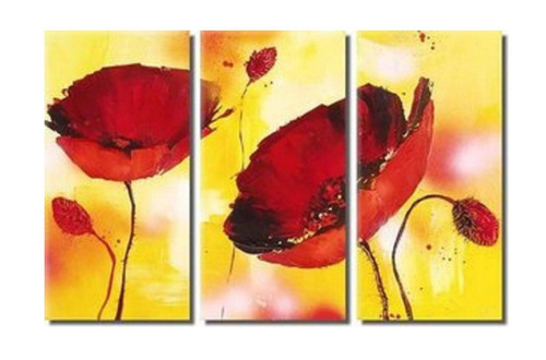 flower, flowers, blossom, red blossom, red flower,multi piece red flower, multi piece flower, red flower with yellow background