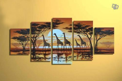 Wild Life ,Giraffe,Animal,Tallest Animal,Group of Giraffe