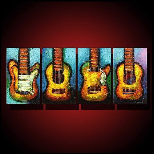 music,musical instruments, guitar, multi piece guitar