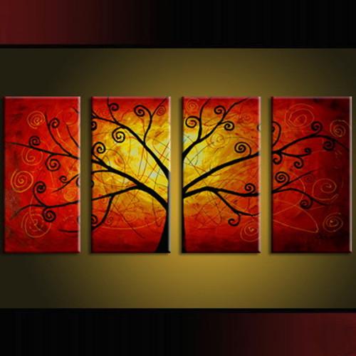 tree, abstract tree, one tree, multi piece tree