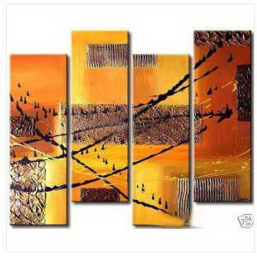 abstract, golden, golden abstract, multi piece, multi piece golden abstract