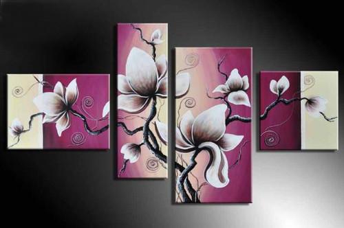 Flower, flowers, blossom, white blossom, multi piece flower, multi piece white flower, voilet