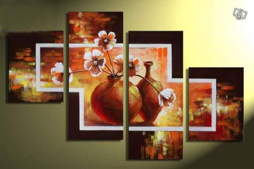 flower, flowers, blossom, flower vase, white flowers, multi piece flower