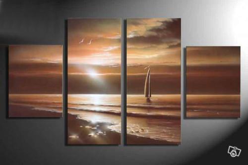 Sea, seascape, landscape,waves, sea shore, boat, boat in sea