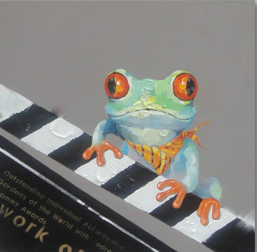 Frog,Frog Playing Music,Playing Piano,Water Animal