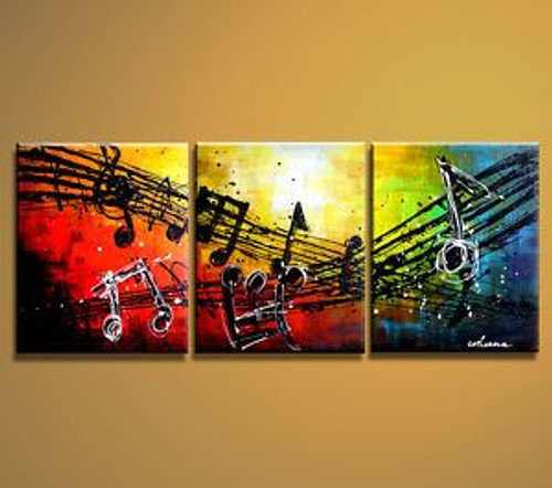 music, musical notes, melody, abstract, multi piece