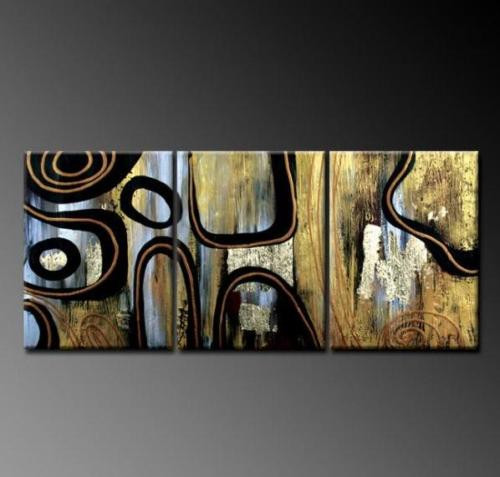 abstract, lines, curves, multi piece abstract, black lines, black curves, black strokes