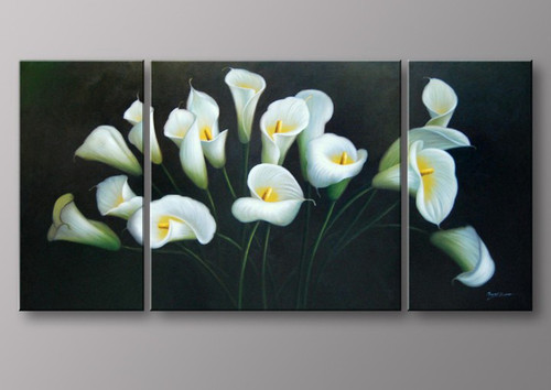 lilies. Flower, flowers, blossom, white lilies, lilies, white lilies with green background, multi piece lilies