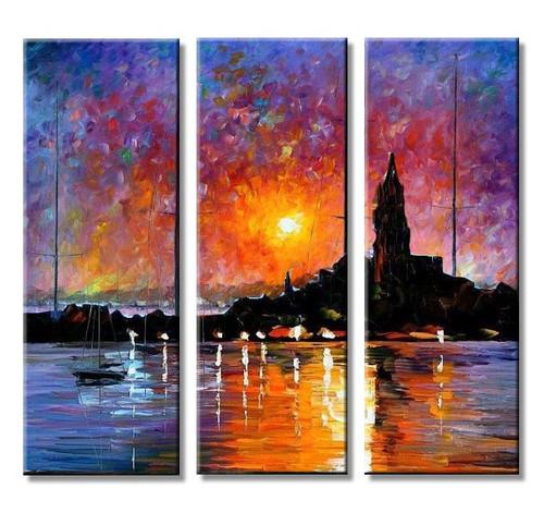 Landscape,Multipiece,Nature,Seascape,Light House