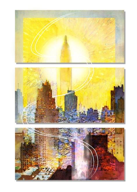 Cityscape,Landscape,Big City,Homes