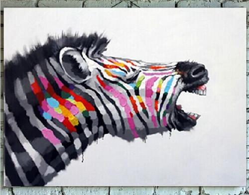 Zebra,Colorful Zebra,MultiColor Zebra,Wild Animal,Zoo Animal