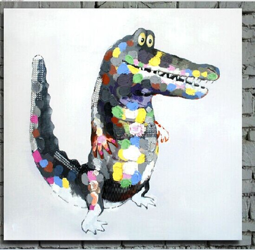 crocodile, amphibian, csmiling crocodile, wild animals