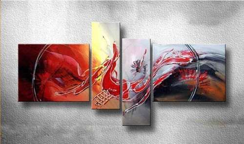 Flashback - 60in X 30in (20in x 24in x 2pcs.)+(10in x 30in x 2pcs.),RTCS_36_6030,Oil Colors,Museum Quality - 100% Handpainted,multipiece Paintings -  Buy Painting Online in India.