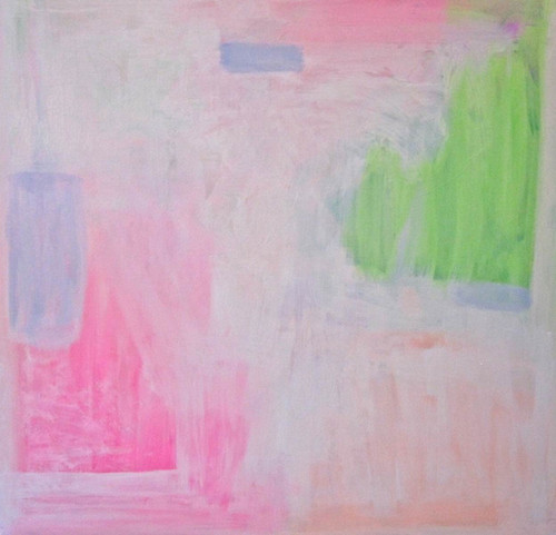 abstract, abstractpinkpainting, abstract white painting, white