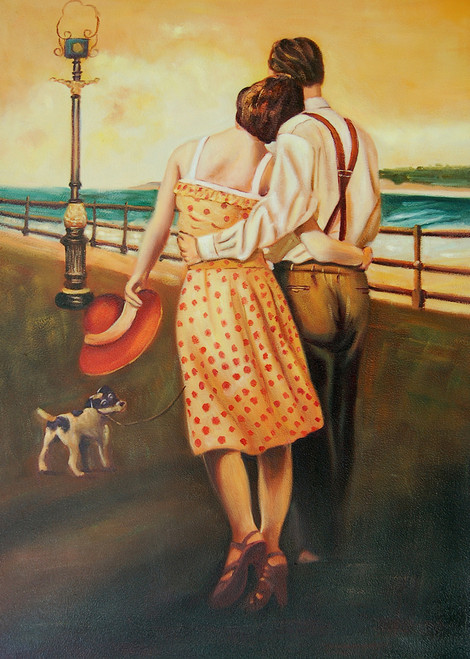 Couple,Pair,Womwn with Man,Lady with red hat,Couple with small Dog,Lovers