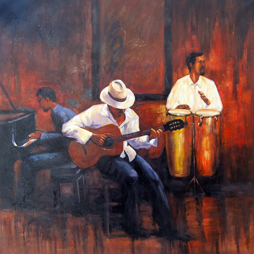 music, music painting, musician, painting of a musician, guitar, musical instruments, music, dance
