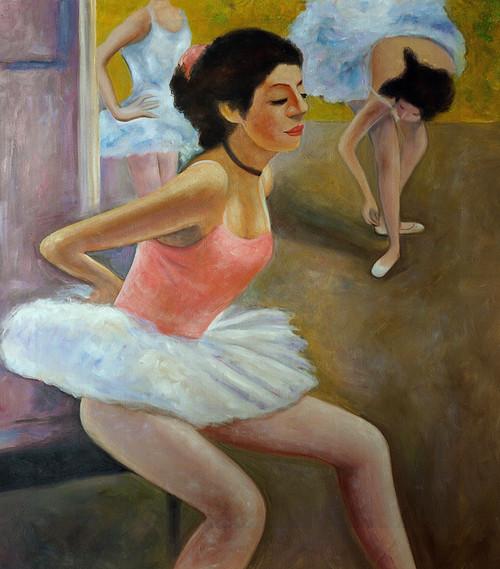 Figurative,Women,Setting Lady,Dance,Lady In Bellet Dance