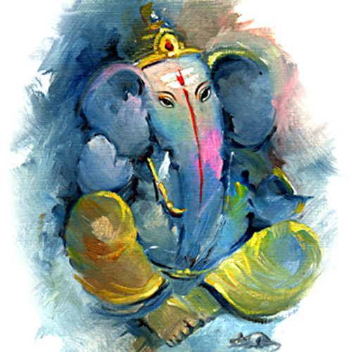 Ganesha,Bappa,Mangal Murti,Bappa,Ganesha,Blue Ganesha
