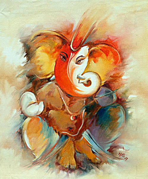 Ganesha,Bappa,Mangal Murti,Bappa,Ganesha,Red,Pink ,Orange shade Ganesha