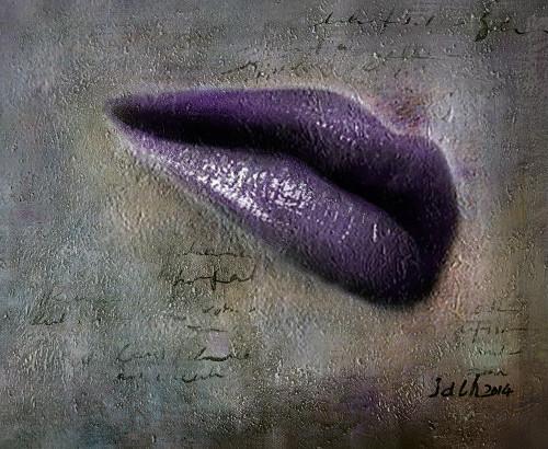 Lips,Purple Lips,Purple Shade Lip stick