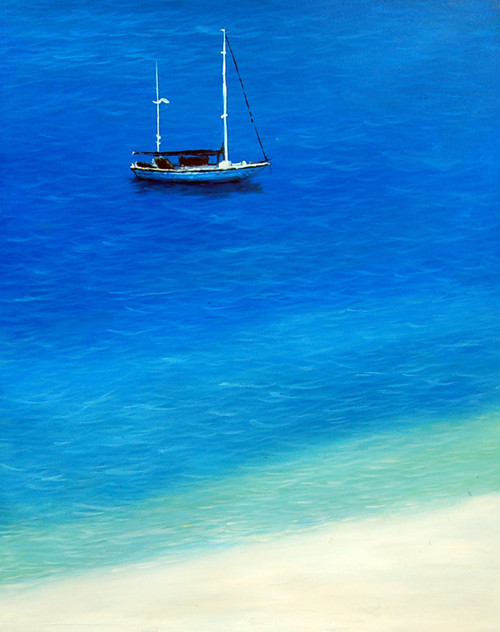Landscape,Seascape,Beach,Sea,Way to Sea,Blue Sea,Brown Sand,Shades of Water,Shades of Sea,Yacht,Ship