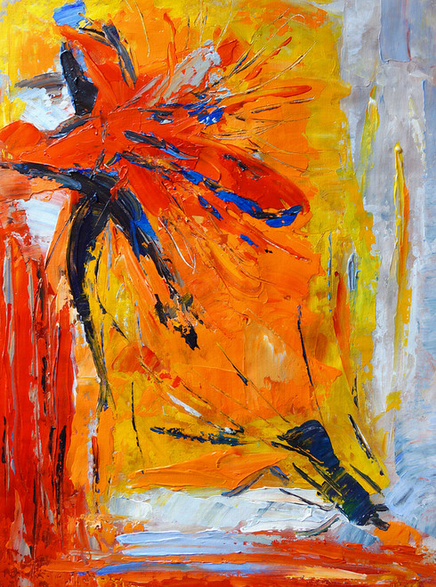 abstract, multi color abtract, orange abstract, burst, blast, splash of color