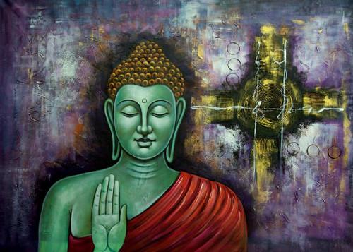 Divine Light 1,Buddha,Buddhism,Meditation,Green Buddha