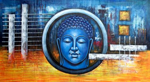 Buddha,Peace,Ahinsa,Meditation,Blue Buddha