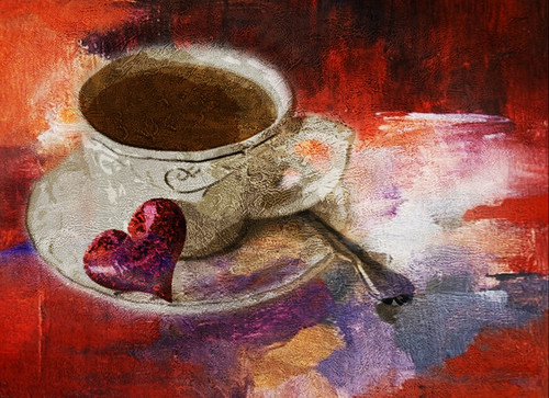 Drink,Good Morning,Tea,Tea Cup,Fresh Morning Start,Love strat