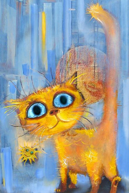 cat , kitten, orange kitten, yellow kitten, orange cat, yellow cat, little cat