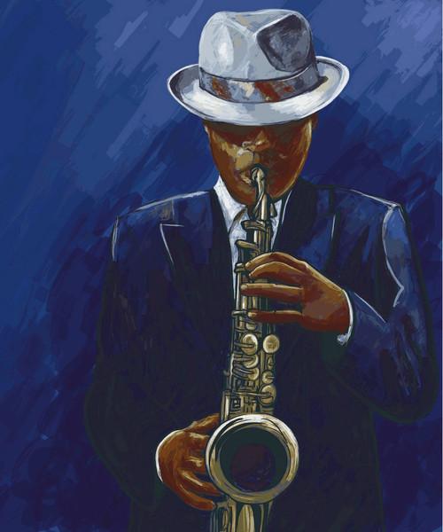 man, man playing music, man playing saxophone, music, musical instrument, man playing musical instrument