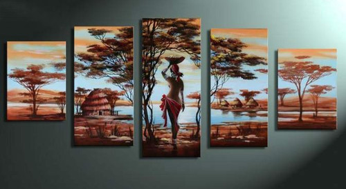 Heaven of Peace 2,RTCSB_59_5828,Oil Colors,Museum Quality - 100% Handpainted,Multipiece Paintings,Tree - Buy Painting Online in India.