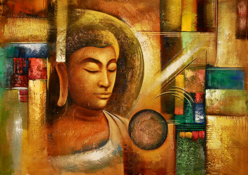 Buddha,Peace,Murlidhar,Peace,Brown Shade Buddha