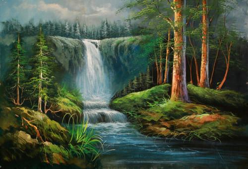 Landscape,Nature,Tree,Beauty of Tree,Flowers,Moutain,Waterfall