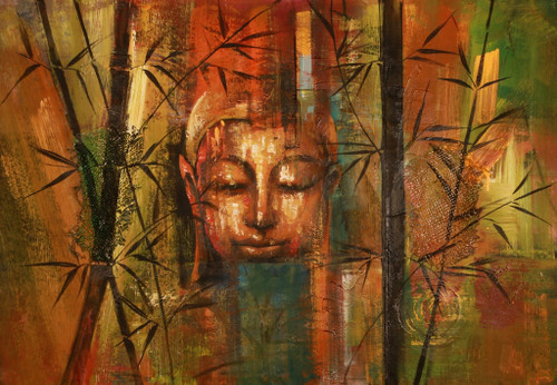 Contemplation - Buddha Meditates,Buddha,Buddhism,Peace