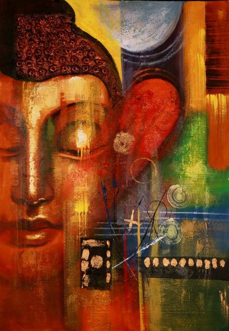 Buddha,Red Buddha,Meditation,Peace,Buddhism