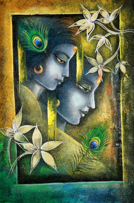 radha, radha krishna, radhe sham, radha with krishna, radha krishna with flower