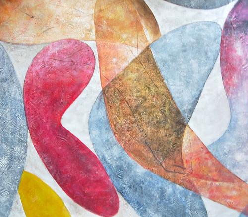 Abstract,Stroke,Pattern,Design,Red,Orange Curve,Like ballon