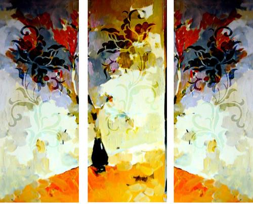 Flower,Floral,Multipiece Flower,White Flower with Vase,Abstrcat Flowers