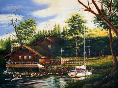 Landscape,Nature,Greenery,Dream Home,Boat