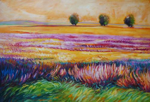 Landscape,Nature,Greenery,Colorful Land,Red,Pink Orange color land