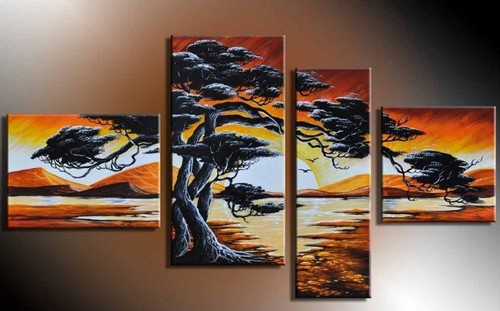 Live Tree - 62in x 32in (Details Inside),RTCSD_20_6232,Trees,Multipiece, - 100% Handpainted Buy Painting Online in India.