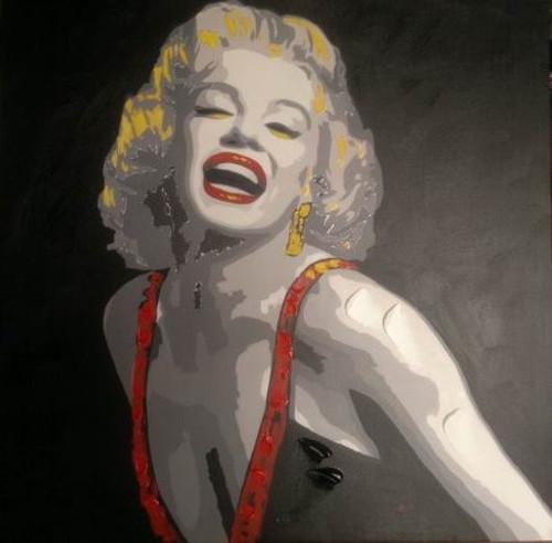 Happy - 36in x 36in,RTCSD_24_3636,Lady,Joy,Happy - 100% Handpainted Buy Painting Online in India