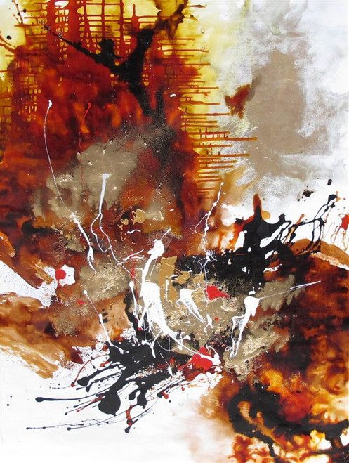 Illusion - 36in x 48in,RTCSD_32_3648,Abstract, - 100% Handpainted Buy Painting Online in India