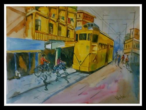 Modern Kolkata Art