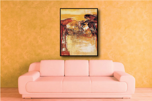 Strokes - 32in x 48in,RTCSD_44_3284,Abstract, - 100% Handpainted Buy Painting Online in India
