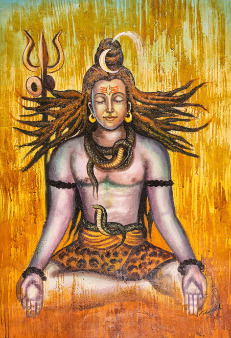 Shiva Paintings India | Shiva Artworks Online | Online Shopping of