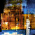 AbstractTower - 24in X 24in,31ABT632_2424,Blue, Violet, Mauve,60X60,Abstract Art Canvas Painting