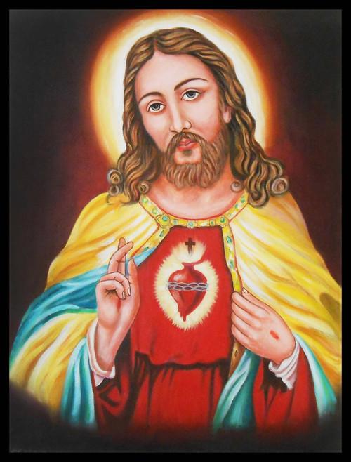 Buy Yeshu Christ By Shrikant Patekar Rs 7190 Code Art