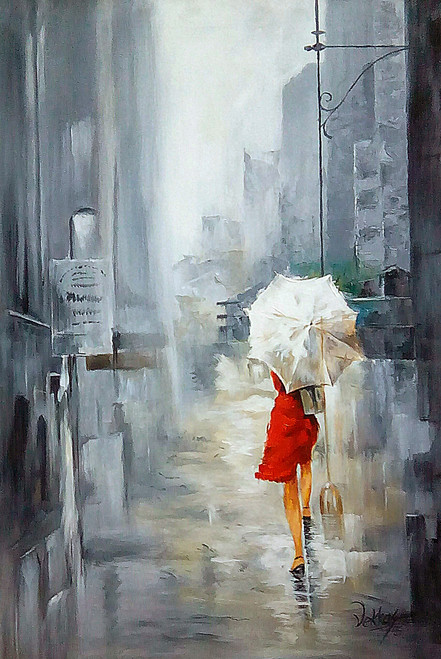 Buy Lady With Umbrella By Vekkas Mahalley Rs 7190 Code